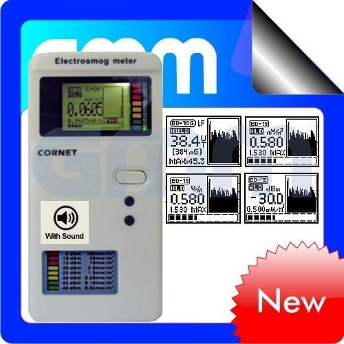 Lf Water Meter : Cornet electrosmog ed s emf rf lf dual mode field