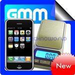 "200g/0.01g Digital ""iPhone"" Pocket Scale"
