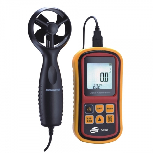 Benetech GM8901 Digital Air Flow Anemometer