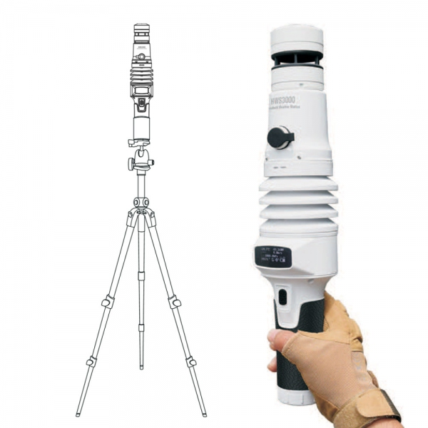 ZOGLAB HWS3000 Handheld Ultrasonic Weather Station
