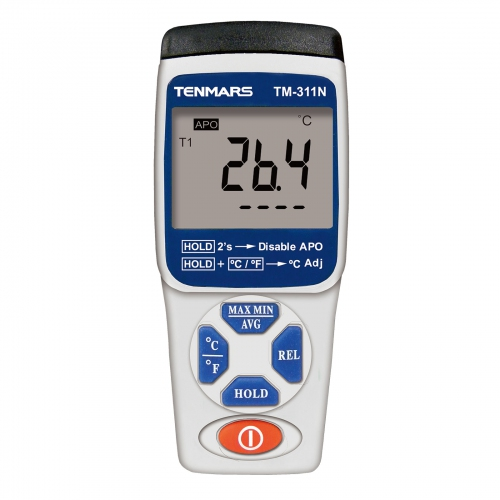 Tenmars TM-311N Single Channel K Type Thermometer