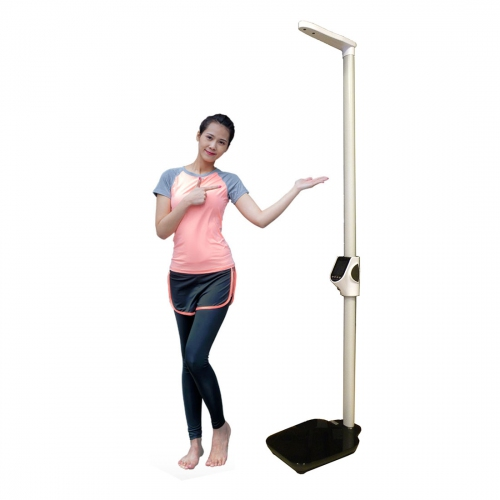 GMM H03A Body BMI Scale Ultrasonic Height, Weight & Fat Analyzer c/w PC interface for Schools, JC, ITE