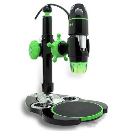 USB Digital Microscope 5X-500X w/ 3D Metal Stand