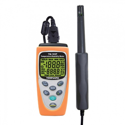 Tenmars TM-183P Temperature/ Humidity Meter with Probe