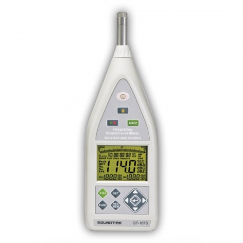 SoundTEK ST-107S Class 2 Integrating Sound Level Meter Data Logger
