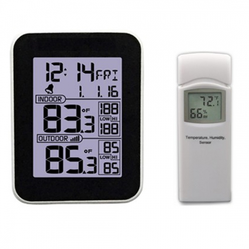 GMM Wireless Thermo-hygrometer w/ Outdoor Temperature Sensor