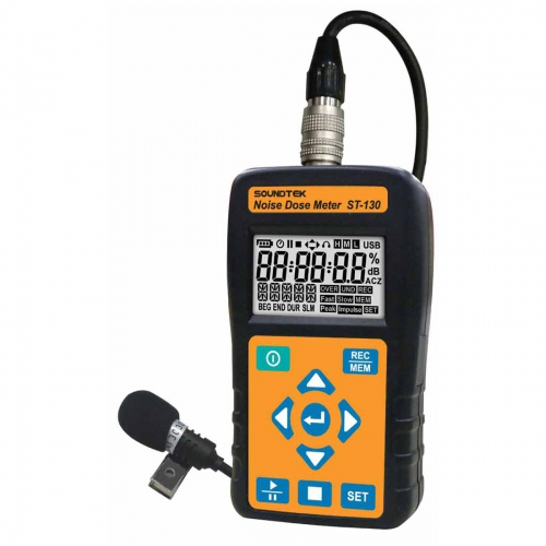 SoundTEK ST-130 Noise Dose Meter / Sound Level Meter