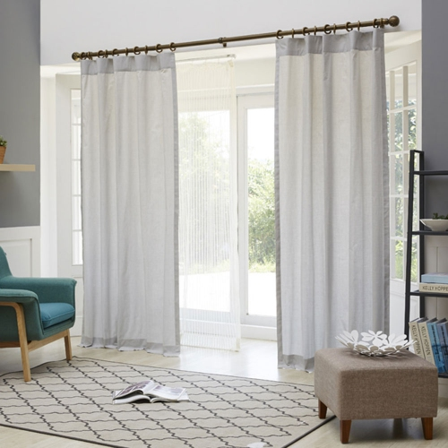 Shieldgreen EMF Shielding Curtain (Staric 25%, Light Grey)