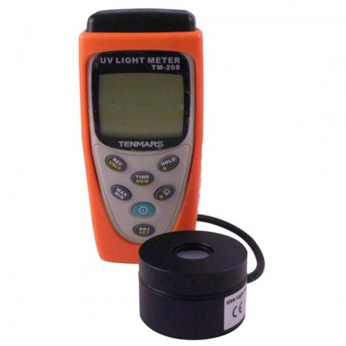 Tenmars TM-208-UVA Datalogging UVA Light Meter