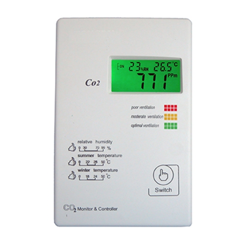 Tongdy TGP-CO2-B360D Wall Mounted with LCD display CO2 Ventilation Controller