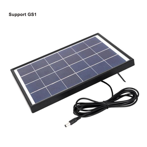 UbiBot 10W Solar Cell Panel (340 x 240mm) 5m cable for GS1