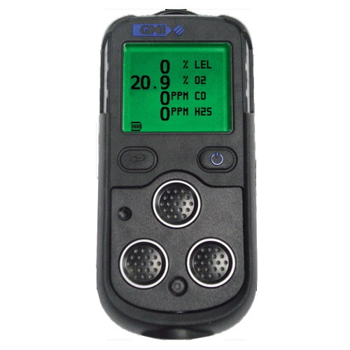 GMI PS200 Series Portable Gas Detectors (LEL/O2/CO/H2S)