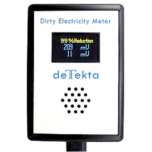 EMFields The deTekta Dirty Electricity Meter (10KHz to 1MHz)