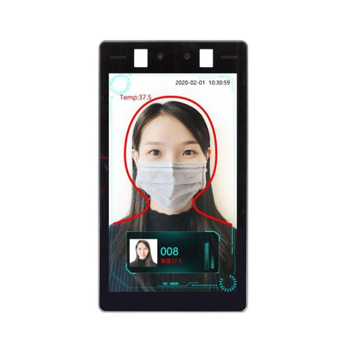 GMM Facial Recognition and Body Temperature Detection with Intelligent Access Control Management Software