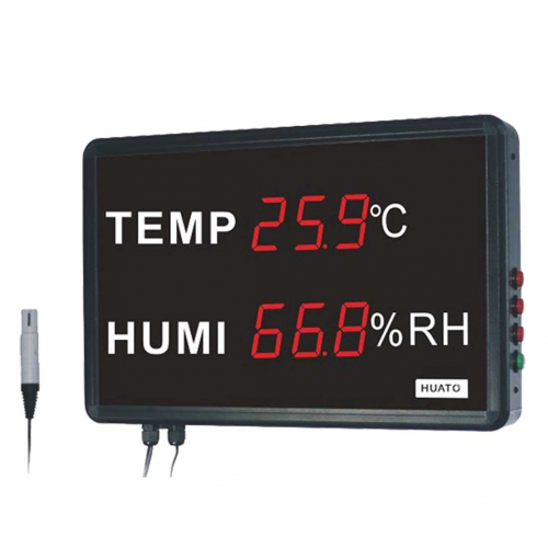 "Huato HE218A Wall Mounted 1.8"" LED Thermo-Hygrometer (395x255)"