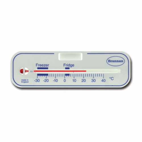 Brannan Horizontal Fridge or Freezer Thermometer -30ºC~40ºC (130x44)