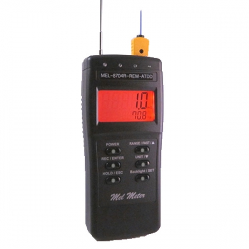 Mel-8704R-REM-ATDD with AC/DC EMF, Hot & Cold Spot Alarm & EMF Radiating Antenna