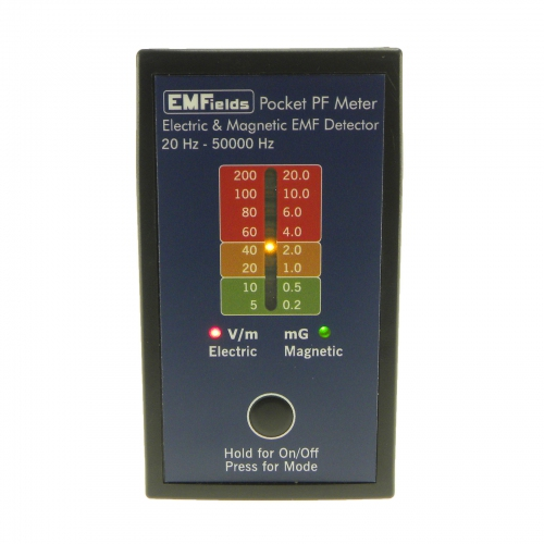 EMFields The PF5 Pocket Power Frequencies Meter (ELF & VLF) (20Hz to 50KHz)