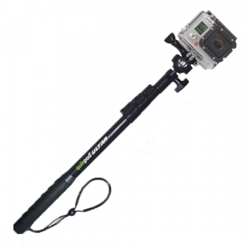 Quik Pod DSLR/POV ULTRA for Go Pro (Longest Selfie Pole)