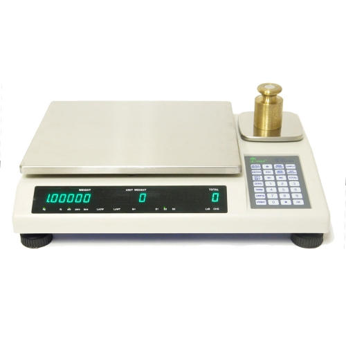 50kg/1g 2kg/0.05g Digital Counting Scale with Dual Platter & PC connection