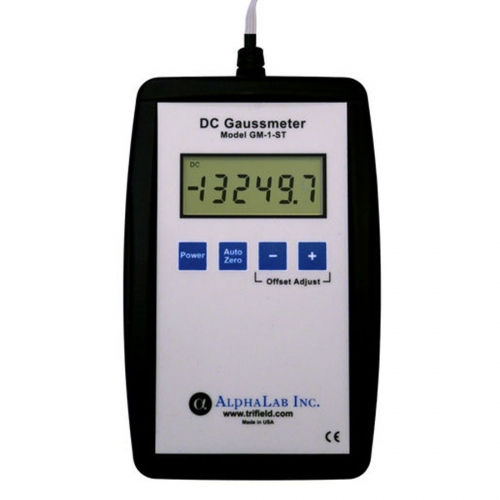 Trifield DC Gaussmeter Model GM1-ST with Boot / NIST Certificate  (0.1-20,000G)