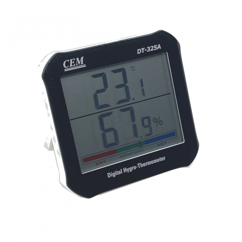 CEM DT-325A Big Digit LCD Digital Indoor Hygro-Thermometer
