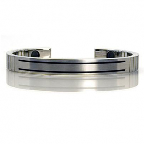 Q-Link  SRT-3 Stainless Steel Ladies Bracelet (Small)