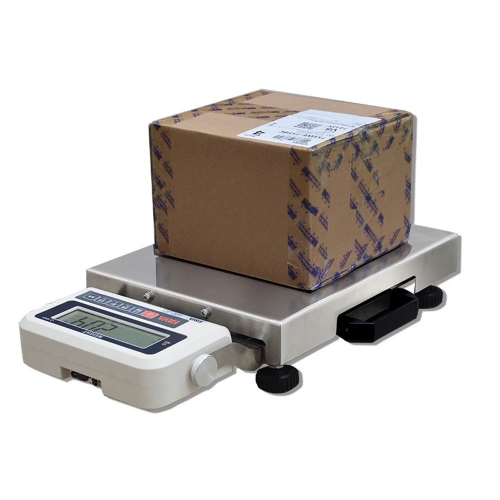 300kg/0.01kg Portable Heavy Duty Stainless Steel Platform Scales with RS232 Interface