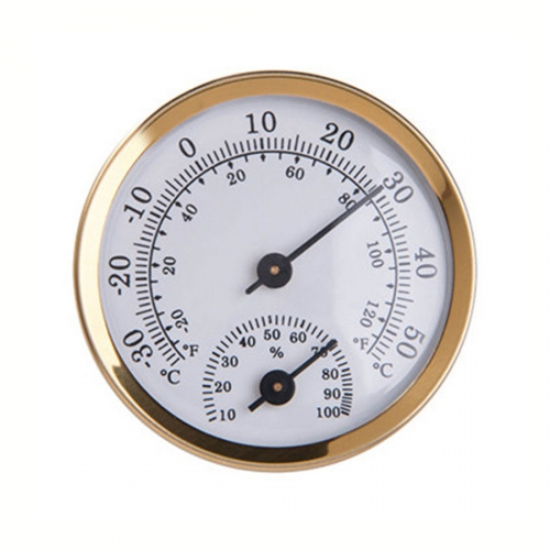GMM Mini Wall mounted Analog Freezer Hygro-Thermometer -35ºC~55ºC (Ø56)