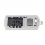 KT-401H Mini Air Ion Counter  ve / -ve Ion Tester Data Hold Button