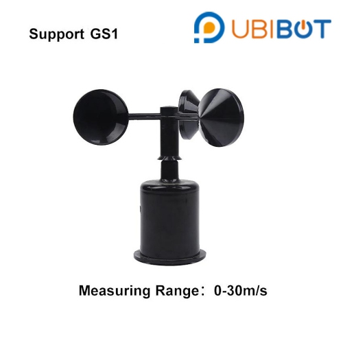 UbiBot Wind Speed Sensor (0-30m/s) 3m cable for GS1