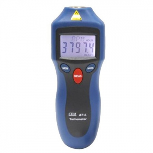 CEM AT-6 High Accuracy Digital Non-contact Tachometer