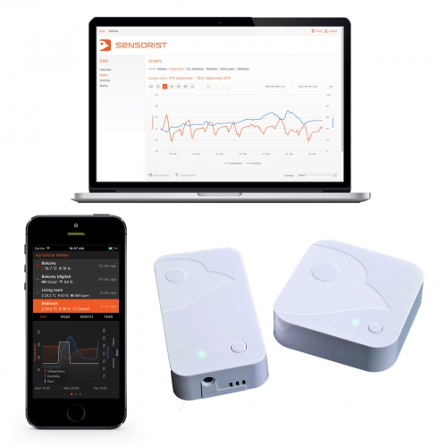 Sensorist Pro Wireless Temperature Monitoring System (Up to 100 sensors)