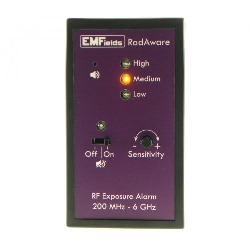 EMFields RadAware Personal Microwave Detector (200MHz to 6GHz)