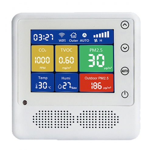 BRAMC BR-K Intelligent Fresh Air Controller PM2.5 PM10 CO2 TVOC