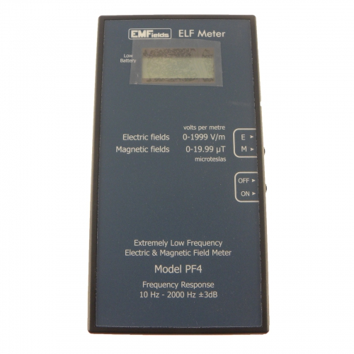 EMFields The ELF PF4 Power-frequency Meter (10Hz to 2KHz)